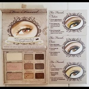 TOO FACED NATURAL EYE EYESHADOW PALETTE